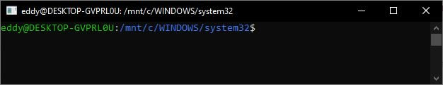 Windows Subsystem for Linux 6
